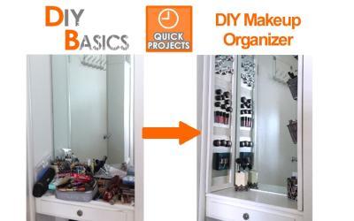 Organizing Tips: DIY Makeup Organizer