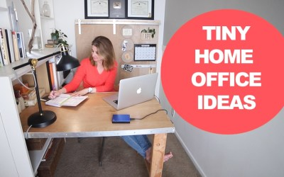 DIY small office makeover – home office inspiration