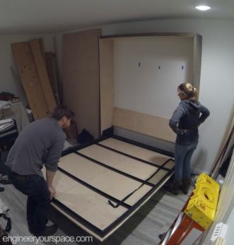 Murphy-Bed-installation-looking-at-the-inside