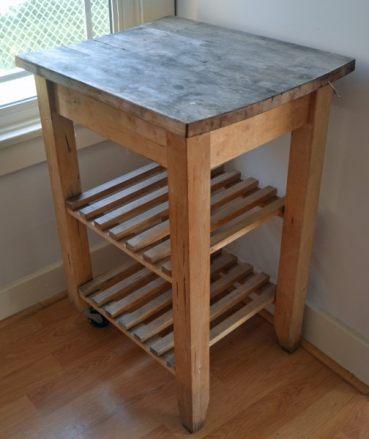 IKEA kitchen Cart before