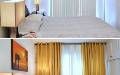 Quick and affordable rental bedroom makeover