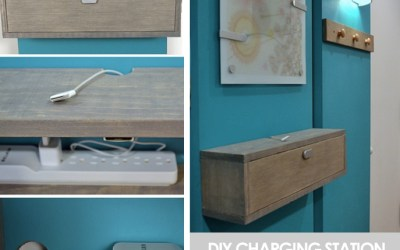 Taming cables with DIY charging stations