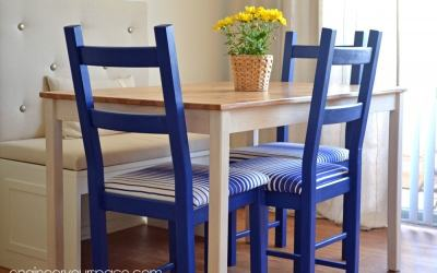 Dining Room on a budget: IKEA's INGO and IVAR get a facelift