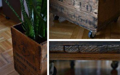 DIY furniture on wheels