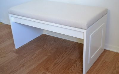 How to build a bench for a banquette