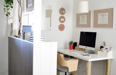 #Engineeryourspace Inspired Spotlight: IKEA bookcase Dividing Wall
