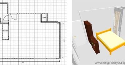 New apartment, new floor plan