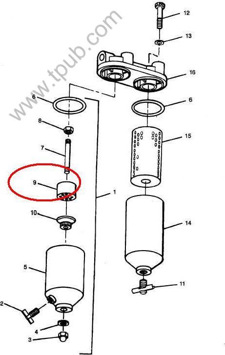 2910-00-374-6020 Filter Element, Fluid