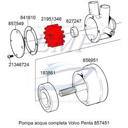 Girante Volvo Penta 877400 / 21951346 / 21951348