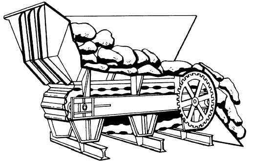Figure 6-3.-Apron feeder.
