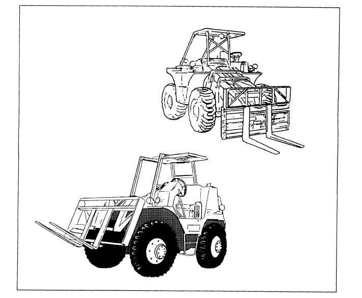 6K Rough-Terrain(RT) Forklifts