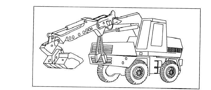 Figure 9-54.-Truck carrier-mounted multipurpose excavator.