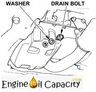 Honda Accord 7 engine oil capacity in quarts