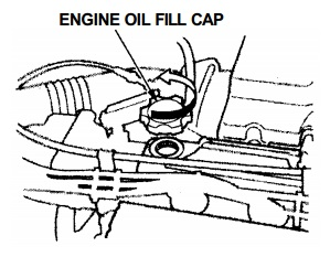 Honda CR-V 1 engine oil capacity in quarts