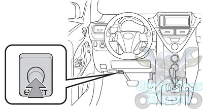 toyota tire pressure warning light