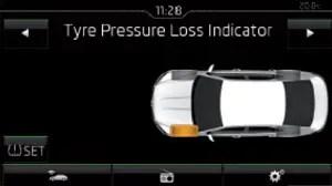 2016 Skoda Superb Reset Tyre Pressure