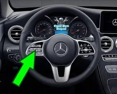 mercedes benz tpms tire pressure reset button