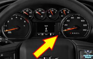 chevy tpms reset button