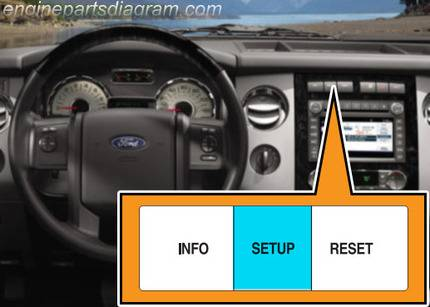 ford oil change light reset