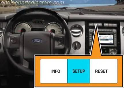 ford oil change light reset