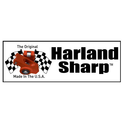 Harland Sharp is the originator of the roller tip rocker arm
