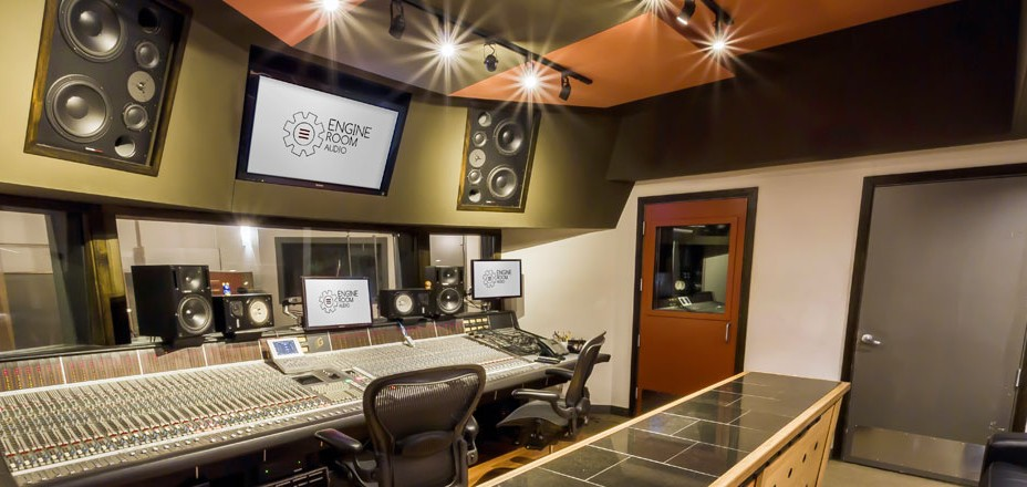 Engine Room Audio  Recording Mixing Mastering Studio