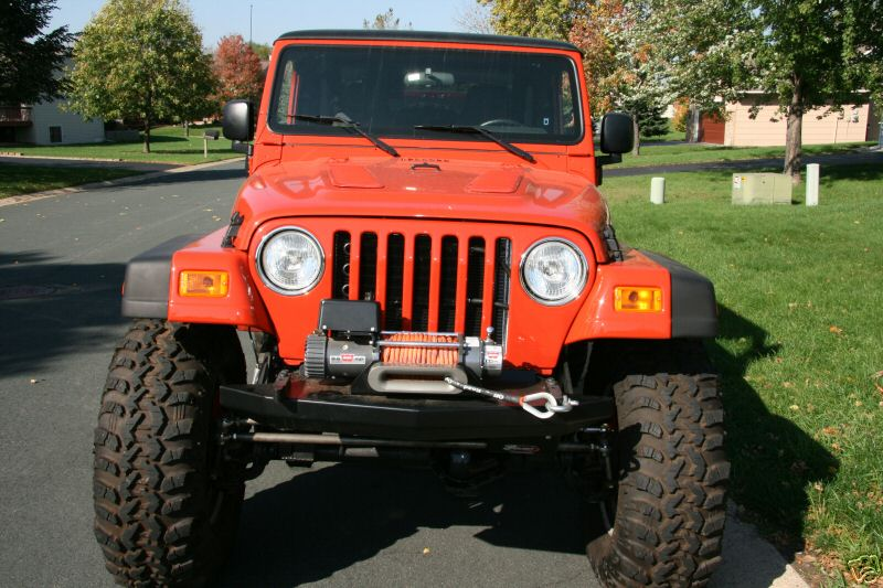 Jeep Wrangler with a Viper V10 engine