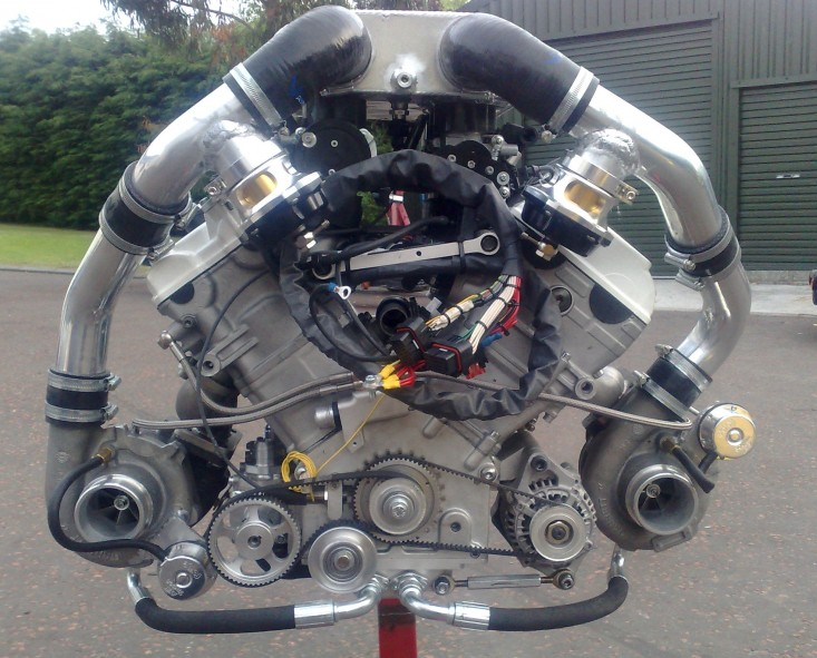Twin-turbo Hartley H1 V8. So much want.