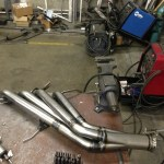custom headers being made for LS3 in a Lexus LS430