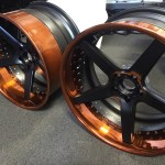new rims going on a Lexus LS430 with a LS3 V8 swap