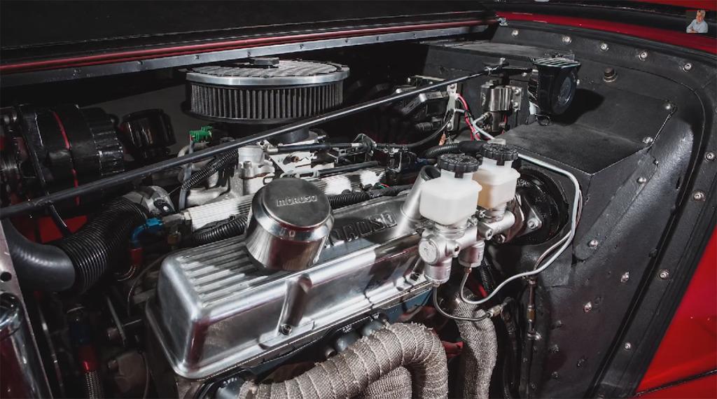Jay Lenos 1952 MG TD  Engine Swap Depot