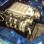 ZR1 LS9 inside a Chevy Colorado engine bay
