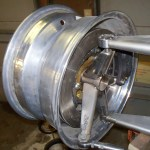 suspension and wheel for custom hot rod with twin-turbo Toyota V12