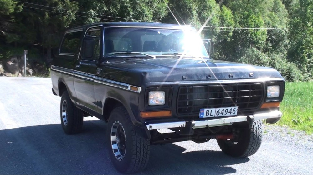 medium resolution of 1979 ford bronco with a 460 big block v8 video series
