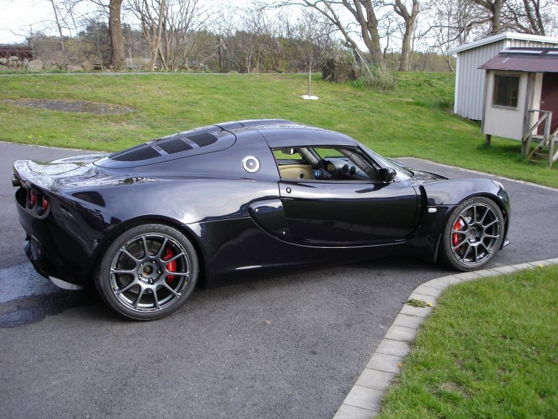 Lotus Exige with a BMW   5.0 L S85 V10