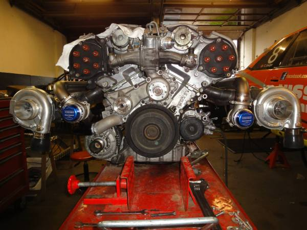 Nissan R33 With Twin-turbo Mercedes V12 Engine Swap Depot