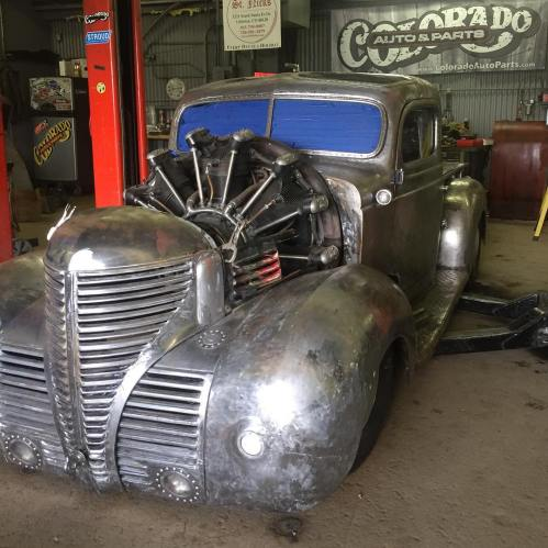 small resolution of plymouth truck with a 757 ci jacobs r 755 a2 radial aircraft engine