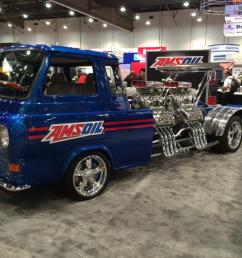 1962 ford econoline truck with four supercharged v8s [ 1024 x 768 Pixel ]