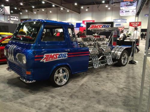small resolution of 1962 ford econoline truck with four supercharged v8s