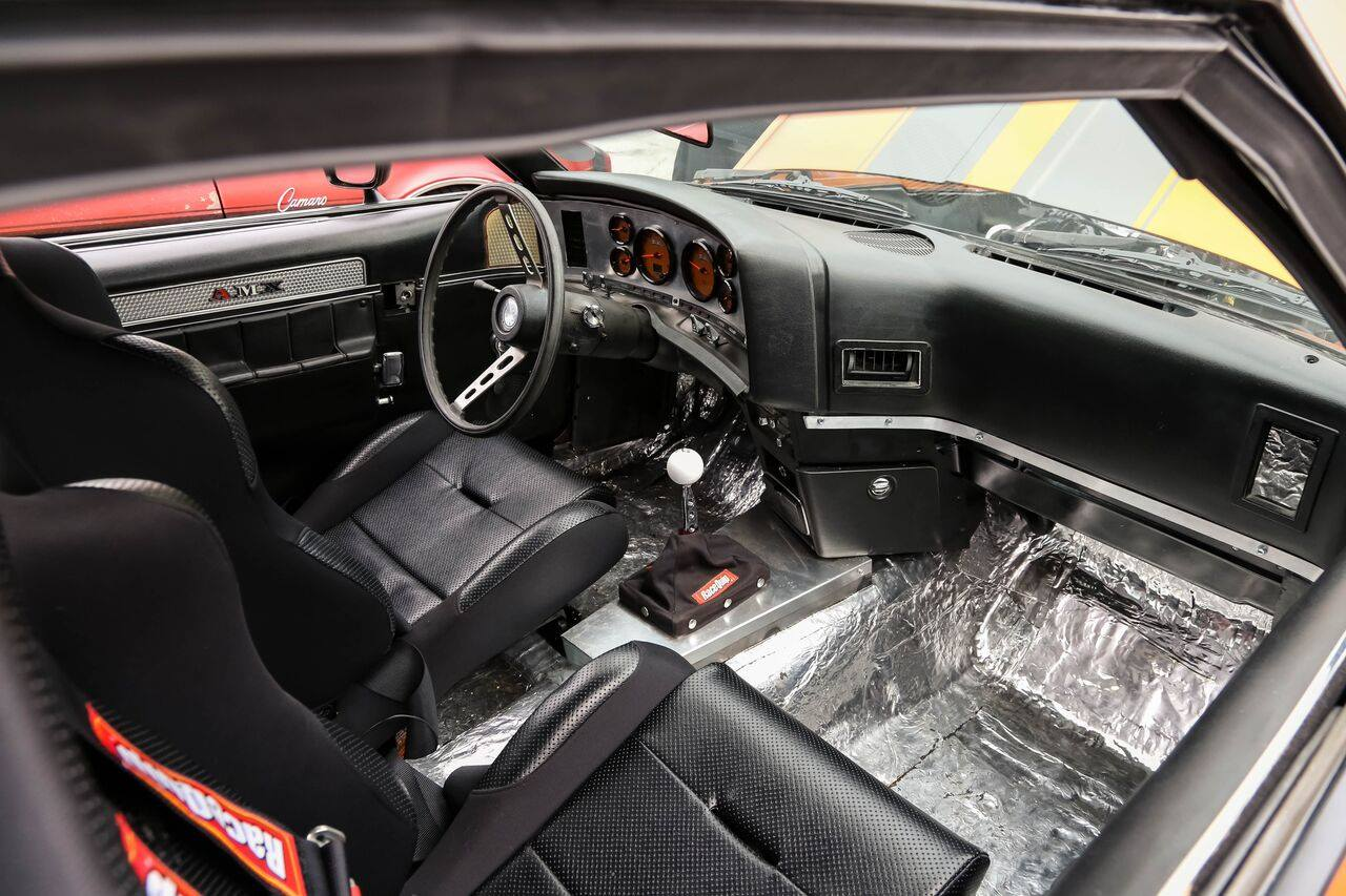 Harness Routing Under Dash For 1973 Amc Javelin