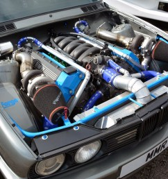 bmw e30 with a twin turbo m60 engine swap depot rh engineswapdepot com bmw 4 4 v8 [ 1400 x 933 Pixel ]