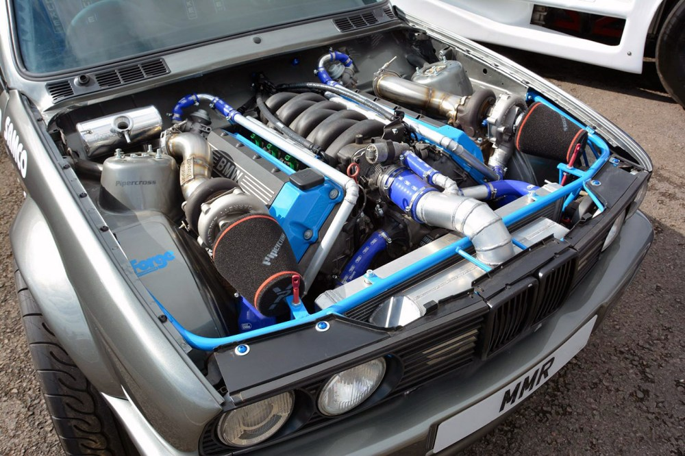 medium resolution of bmw e30 with a twin turbo m60 engine swap depot rh engineswapdepot com bmw 4 4 v8