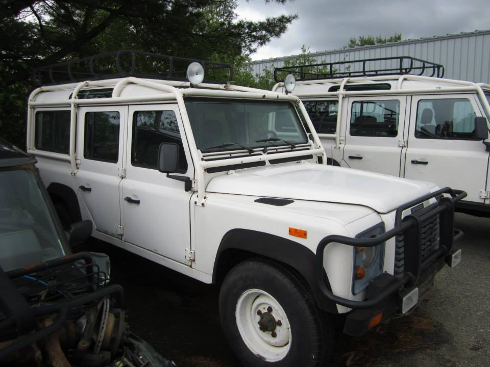1993 Land Rover NAS Defender coming in to get a  full restoration and LS3 V8 swap