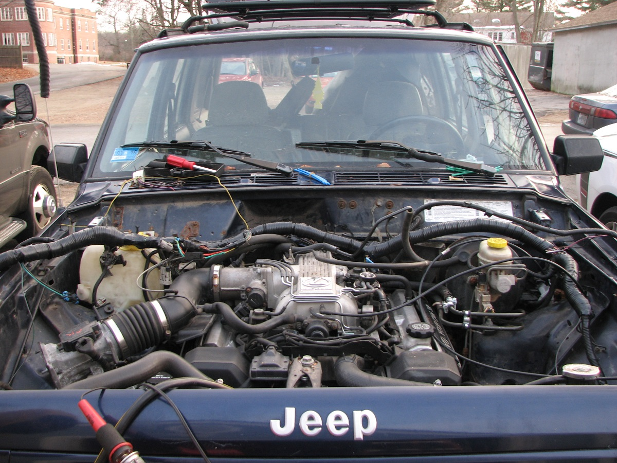 1996 Jeep Cherokee Radio Wiring Diagram Jeep Cherokee With A 1uz Fe Engine Swap Depot