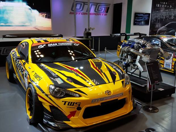 Toyota 86 with a Twin-turbo 1GR-FE