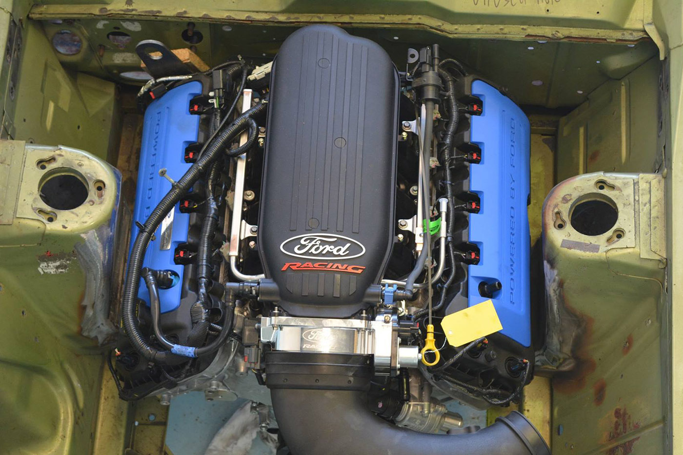 hight resolution of coyote swap kit for classic fords