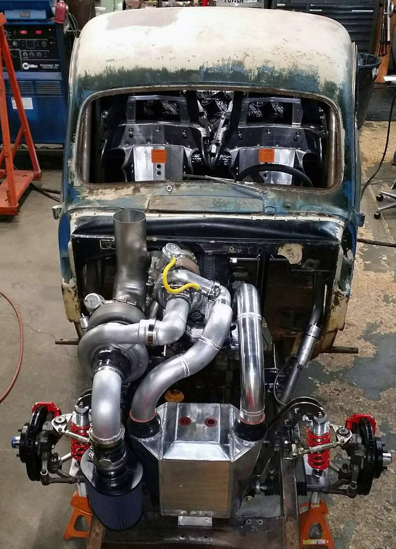 65 Chevy Pickup Wiring Diagram 1949 Ford F 1 With A 1 200 Hp Cummins Engine Swap Depot