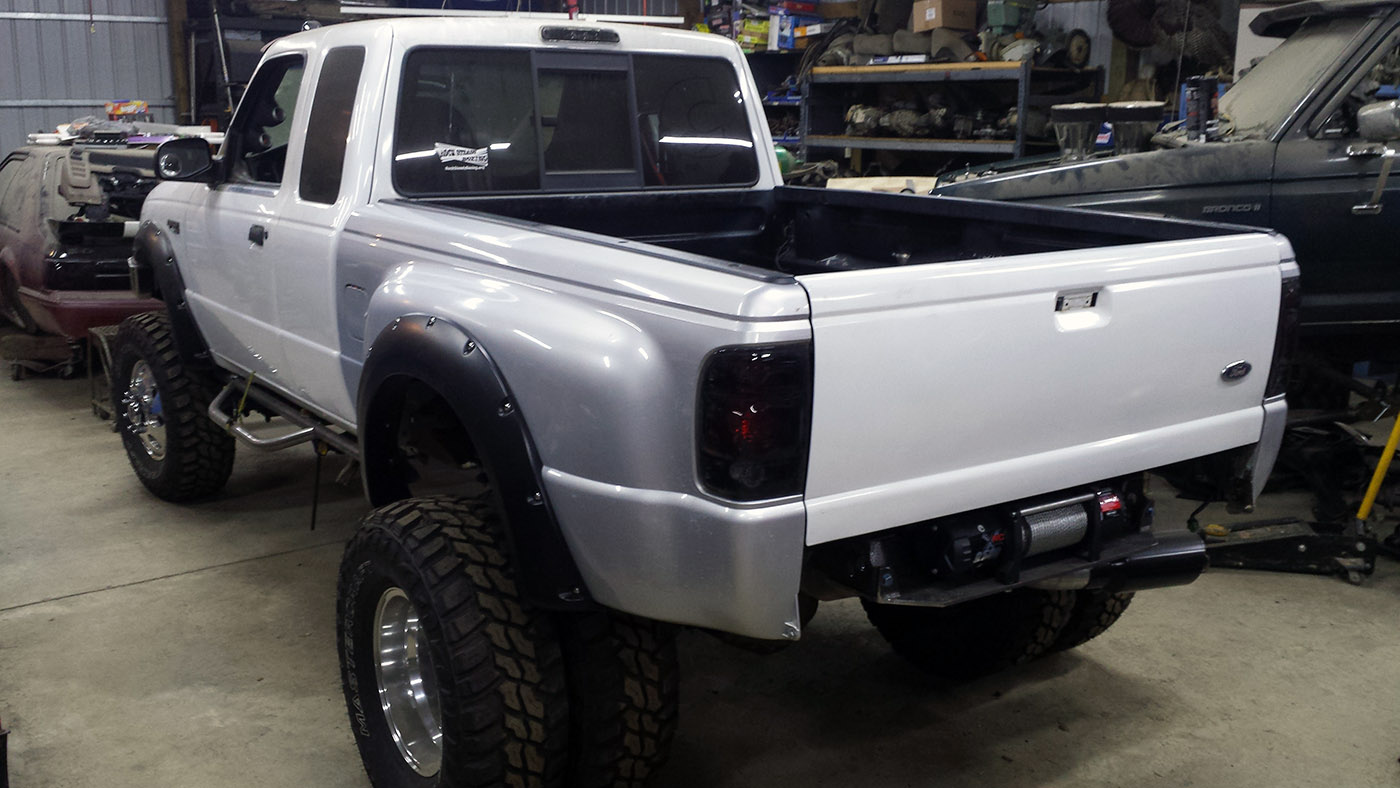 hight resolution of ford ranger 4 4 with a cummins 4bt diesel inline four engine swap depot