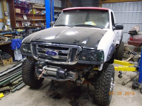 small resolution of ford ranger 4 4 with a cummins 4bt diesel inline four engine swap depot