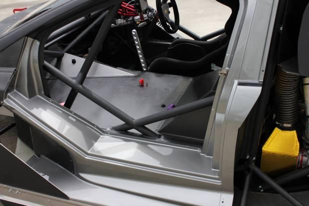 Tony Quinn Hill Climb Ford Focus with 850 HP R35 VR38DETT V6
